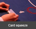 Card squeeze
